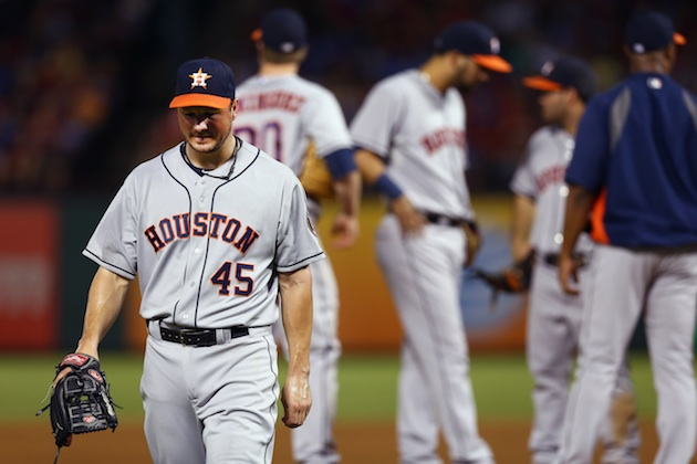 Pitcher Eric Bedard is the highest paid Astros at $1.15 million (Getty Images)