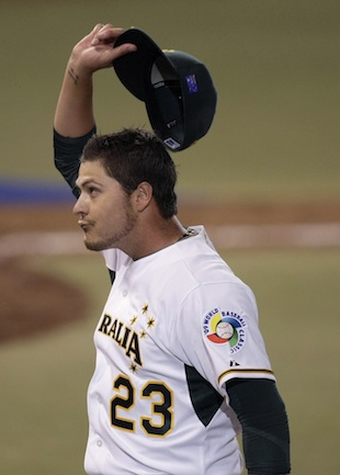 Travis Blackley in 2009 (AP)