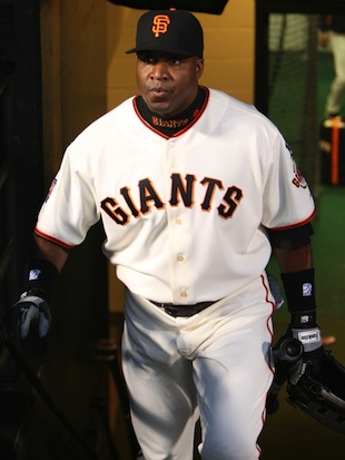 Barry Bonds in 2007. (Getty)