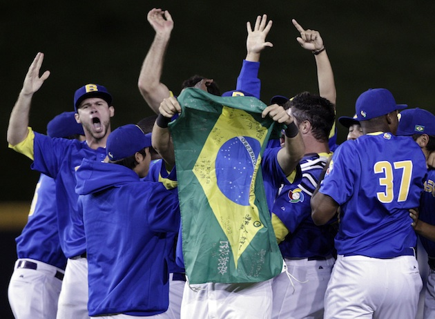 Brazil clinched a berth in the WBC with a win over Panama on Monday. (AP)