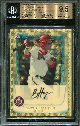 Bryce Harper baseball card listed for $25K on eBay
