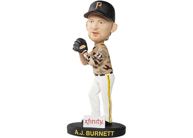 The A.J. Burnett giveaway T-shirt that the whole world should get for free