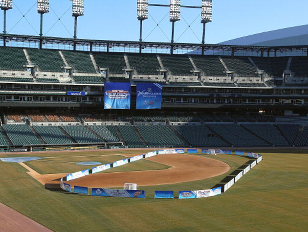 Comerica Park will host the Hockeytown Festival in late 2012. (AP)