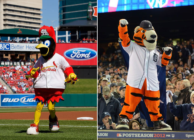 Big League Stew Mascot Madness Day 1: The San Diego Chicken Bracket