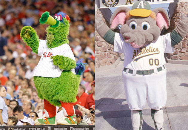 Big League Stew's Mascot Madness Day 8: The Final Four is upon us!