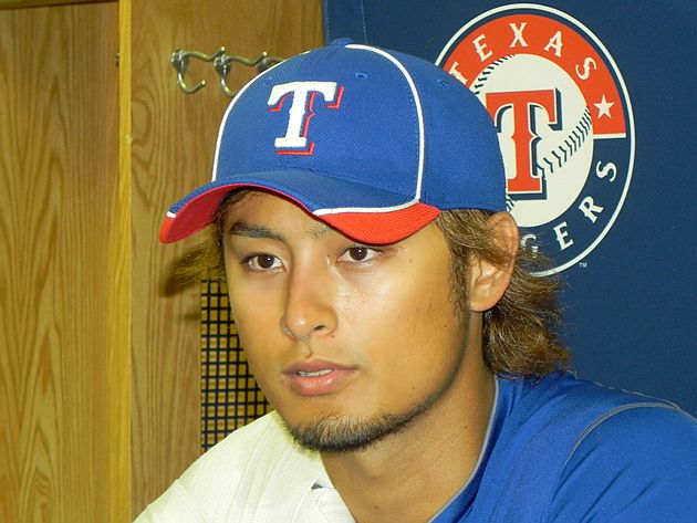 Darvish mostly dismissed questions about pitching from the stretch. (Big League Stew)