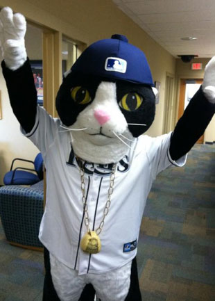 DJ Kitty will be appearing at this weekend's RaysFest. (@Jonathan_Gantt)