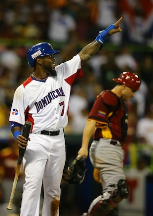 Jose Reyes had a big game for Dominican Republic (Getty Images)