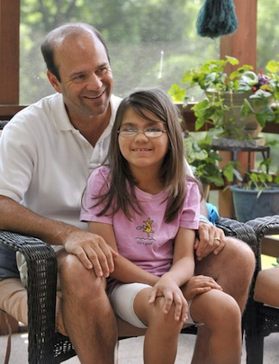 Jim and Lindsey Duquette (Lloyd Fox/Baltimore Sun)