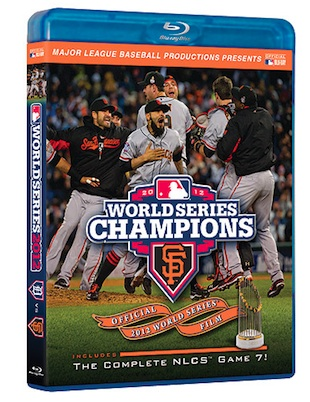 BLS contest! Win a copy of the 2012 World Series film starring the San Francisco Giants