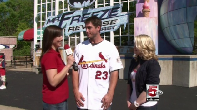 David Freese And Erin Andrews