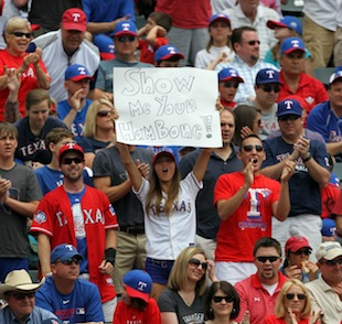 The welcome-back-to-Texas party probably won't look like this for Josh Hamilton. (Getty Images)