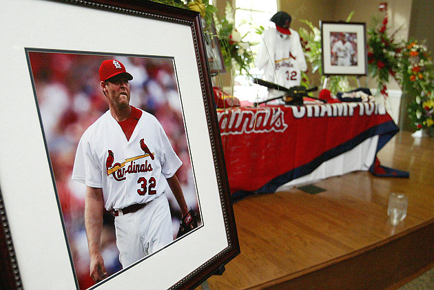 Josh Hancock died five years ago this April. (AP)