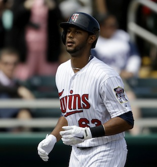 Might Aaron Hicks be the rookie star of the AL Central? (AP)