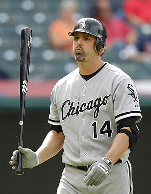 Paul Konerko needs four home runs to reach 400 for his career, but has team goals on his mind. (AP)