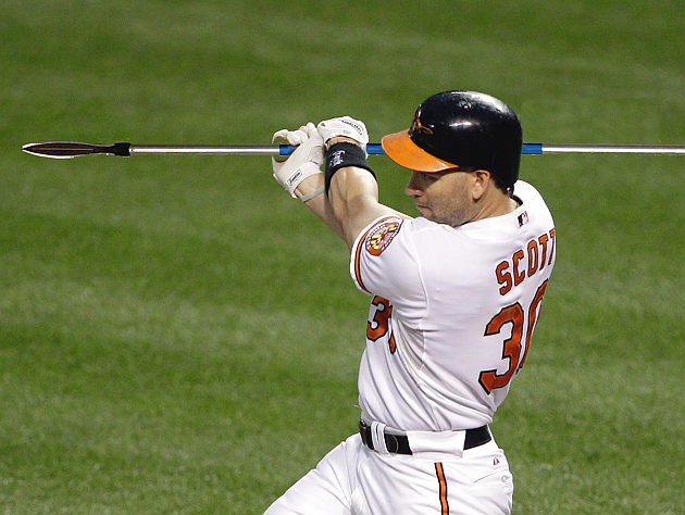"Unless you're a ""criminal or a communist,"" you're cool with Luke Scott. (AP, BLS Illustration)"