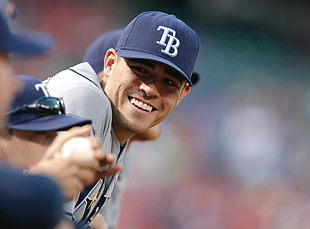 Matt Moore has pitched 9 1/3 major league innings. (AP)