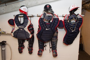 An unconfirmed peek at the Mauer baby registry? (Getty Images)