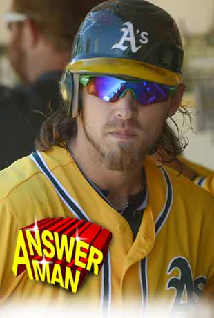 Answer Man: Josh Reddick talks long hair, his aching tooth, Spider-Man, making A's walkoff pies and 'Sweet Caroline' with the Red Sox
