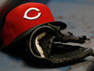 Reds caps are popular on the streets. (Getty)
