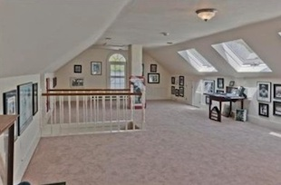 Home Plate Farm features a Babe Ruth memorabilia room. (Coldwell Banker)