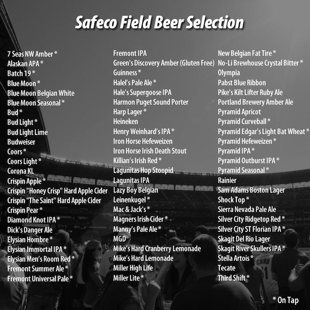 (Beer list via @nrauschenberg)