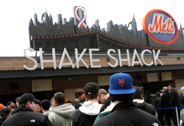 Shake Shack is great, but don't spend the whole game waiting in line. (Getty Images)