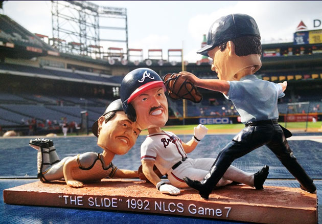 The first 20,000 fans at Turner Field on June 9 will receive this bobblehead. (@Braves)