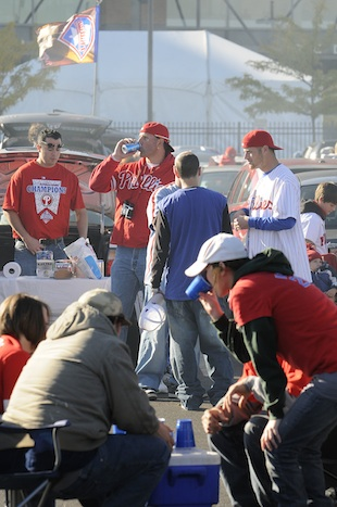 Tailgating at Citizens Bank Park (Getty Images)