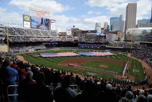 Target Field on opening day 2012 (Getty Images)