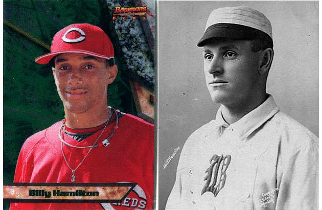 The two Billy Hamiltons: Reds prospect eerily similar to speedy Hall of Famer