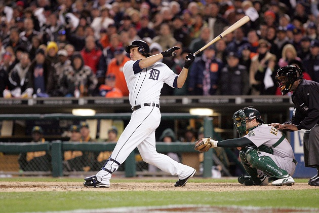 Magglio Ordonez's game-winning homer in Game 6 of the 2006 ALCS. (US Presswire)
