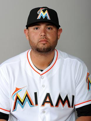 Ricky Nolasco is thrilled to still be a Marlin. (USA Today)