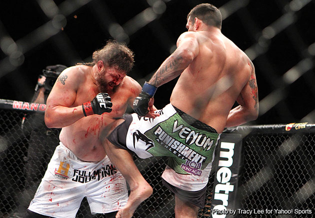 Roy Nelson is tough as hell, but it's not enough to compete with Fabricio Werdum at UFC 143