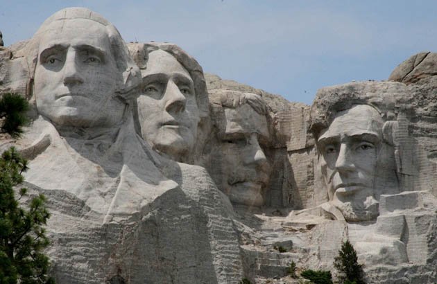 Is it too much to hope for a fight card in front of Mt. Rushmore? (Getty)