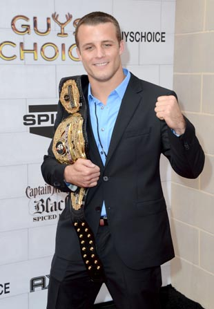 Bellator champ Pat Curran (Getty)