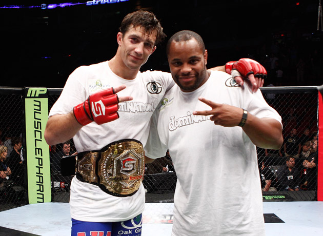 Rockhold (left) is injured, and Cormier is without an opponent. (Getty)
