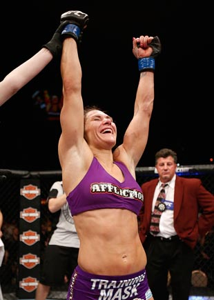 Cat Zingano was the first mom to win in the UFC. (Getty)
