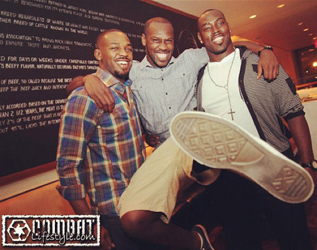 Jon, Chandler and Arthur Jones (Combat Lifestyle)