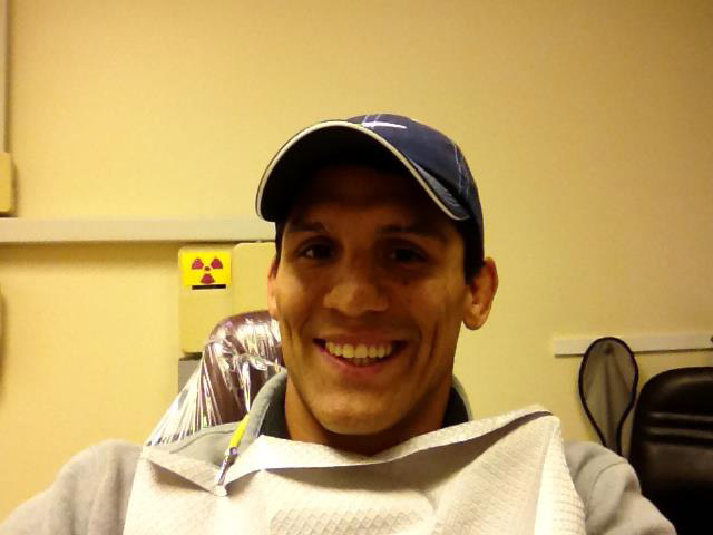 Frank Shamrock, braceless (Facebook)
