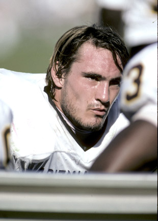 Tillman during his Arizona State days. (Getty)