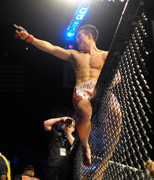Chan Sung Jung will fight Jose Aldo for the featherweight title Aug. 3 (Getty)