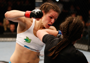 Alexis Davis is 14-5 overall in MMA and 1-0 in the UFC. (Getty)