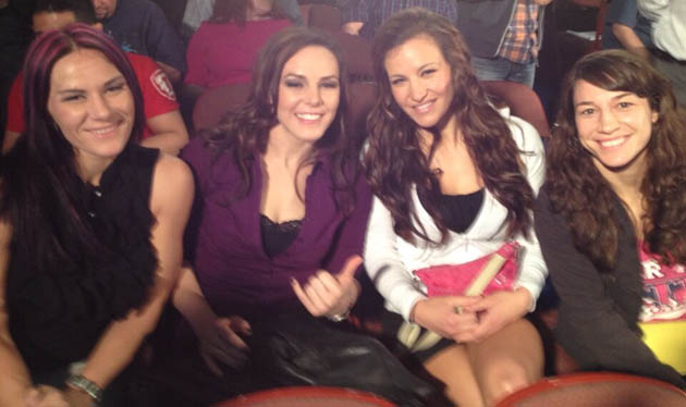 Cat Zingano, Alexis Davis, Miesha Tate and Sara McMann are all in UFC's new division. (Twitter.com/CatZingano)