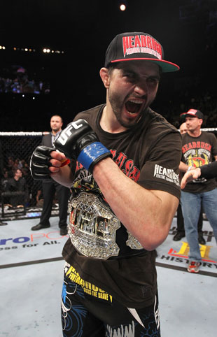 Condit, the new interim champ (Getty)
