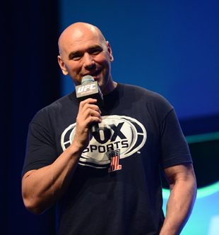 Dana White finally made the rematch he wanted (Getty)