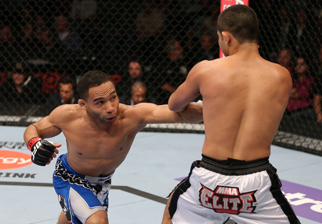 "John Dodson (L) will be profiled on ""The Road to the Octagon"" Saturday at 5 p.m. on Fox (Getty)"