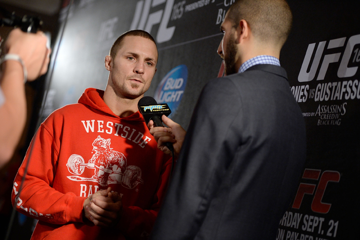 Eddie Wineland's weight was a question even after the UFC 165 weigh-in (Getty Images)