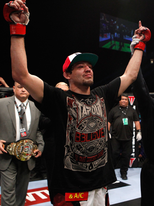 Strikeforce lightweight champion Gilbert Melendez (Getty Images)