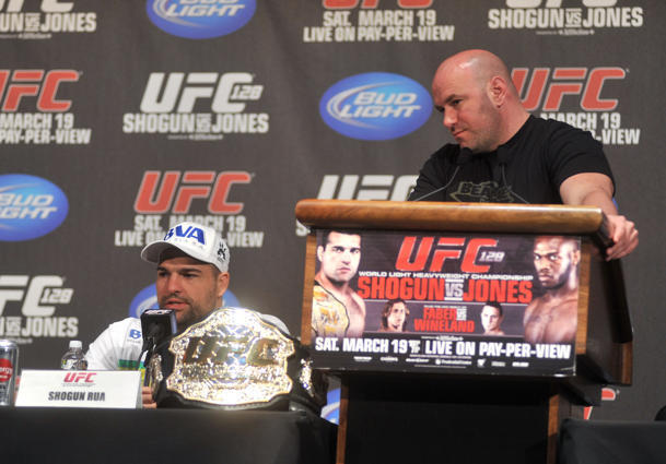 No one fights at UFC press conferences anymore. Sigh. (Getty)